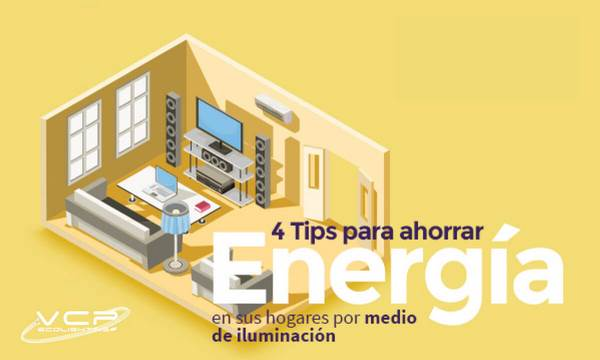 Tips de ahorro con iluminación LED